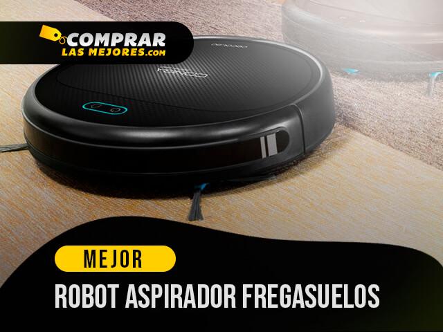 ᐉ 10 Mejor Robot Aspirador Fregasuelos Top 10 De 2021
