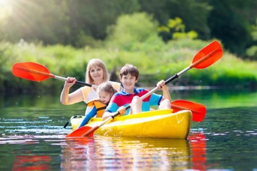 consejos para usar un kayak