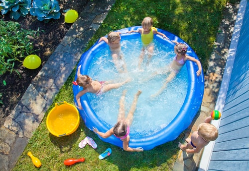 reparar pinchazo en piscinas hinchables