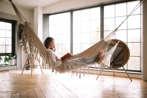 dónde comprar camas colgantes de interior