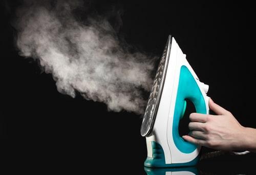 cómo funciona una plancha de vapor