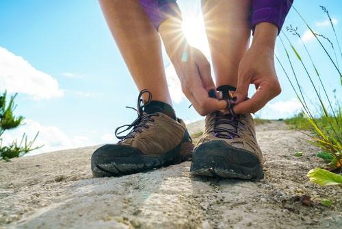 cómo usar zapatillas de montaña